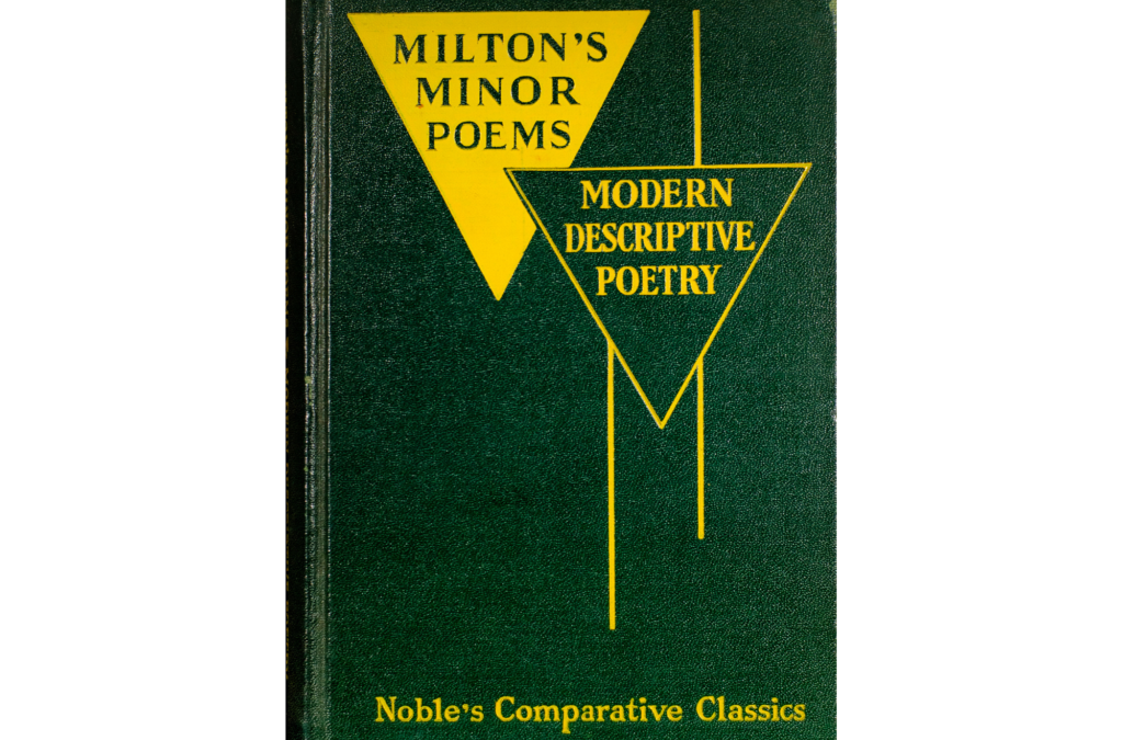 Milton's Minor Poems BY John Milton