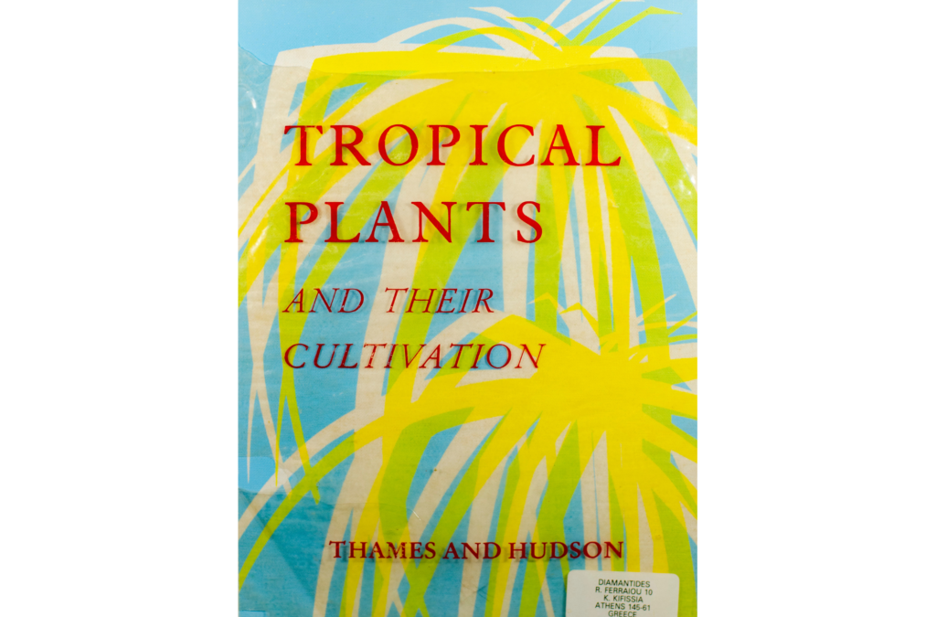 Tropical Plants And Their Cultivation