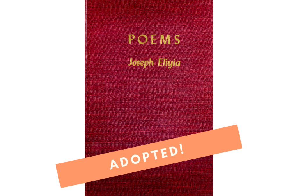 Poems BY Joseph Eliyia