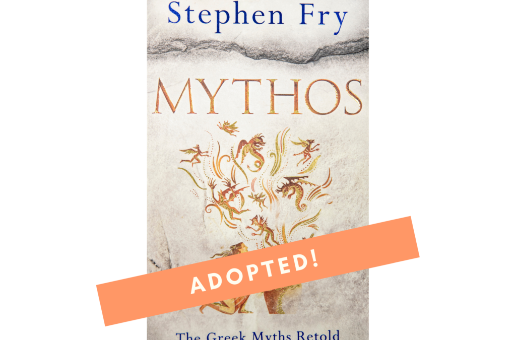 Mythos – The Greek Myths Retold By Stephen Fry